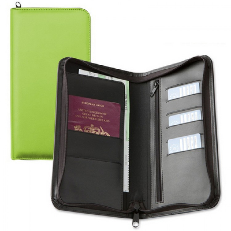 Classic Concepts 9228 Deluxe Zipped Travel Wallet
