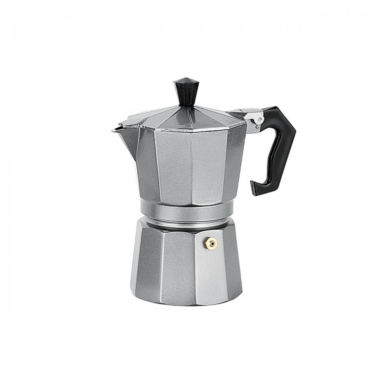 Avanti Espresso Coffee Maker Platinum Grey 3 Cup