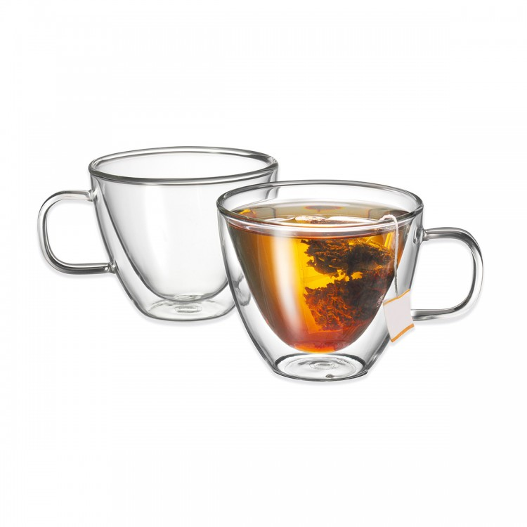 Avanti Sienna Twin Wall Glass 250ml - 2 Piece Set