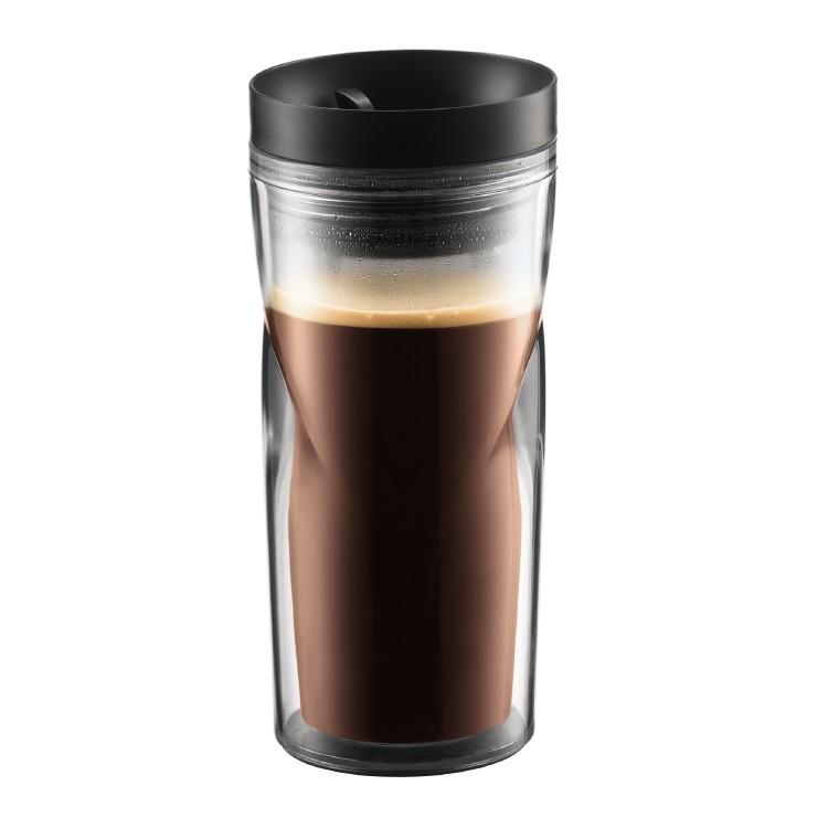 Bodum Travel Mug, 0.35 l, 12 oz Black