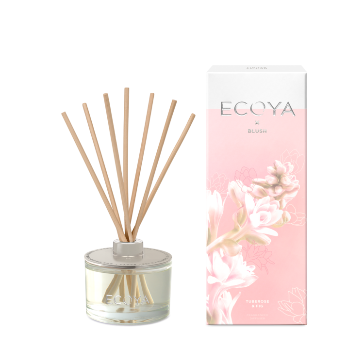 Ecoya X Blush - Tuberose & Fig Diffuser | REED502