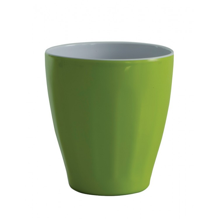 Avanti Boston Melamine Two tone Cup - Lime Green