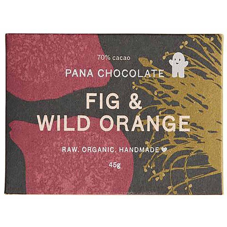 Pana Chocolate Fig & wild Orange 45G bar