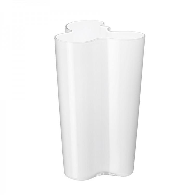 Iittala Aalto Vase 25.1cm Opal White
