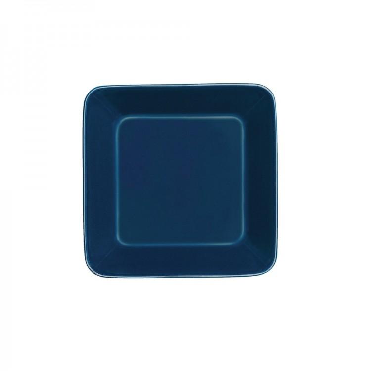 Iittala Teema Blue Plate Square 16x16cm