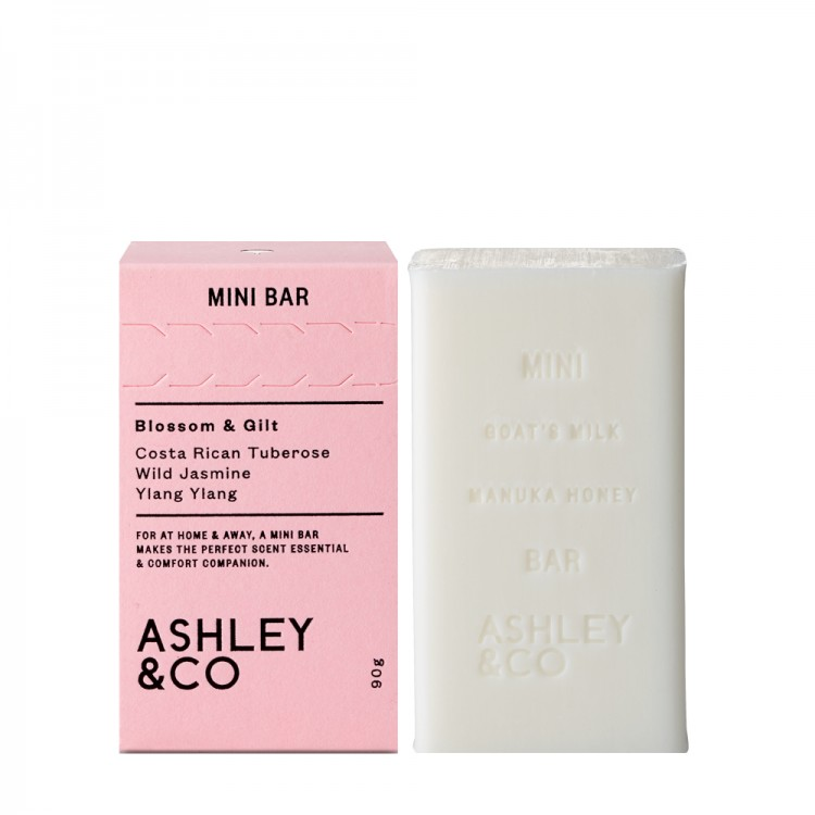 Ashley & Co Blossom and Gilt Mini Bar