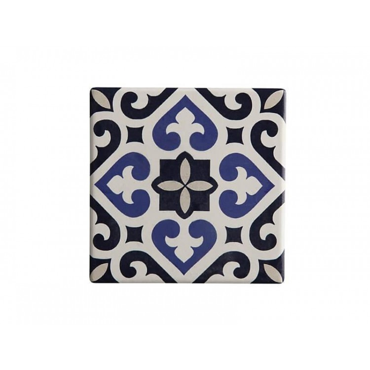 Maxwell & Williams Medina Ceramic Square Tile Coaster Azrou 9cm | DU0050
