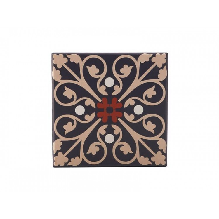 Maxwell & Williams Medina Ceramic Square Tile Coaster Fes 9cm | DU0011