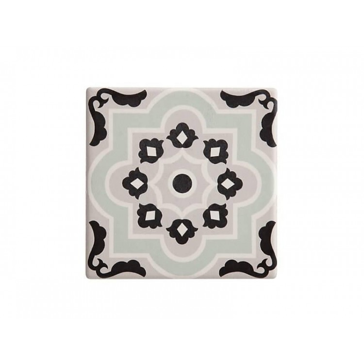Maxwell & Williams Medina Ceramic Square Tile Coaster Larache 9cm | DU0052