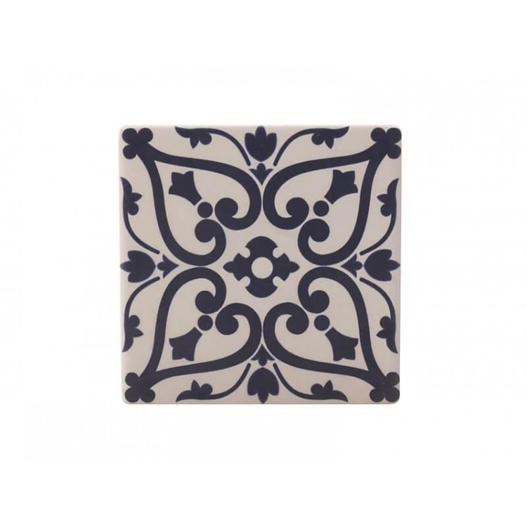 Maxwell & Williams Medina Ceramic Square Tile Coaster Maarif 9cm | DU0009