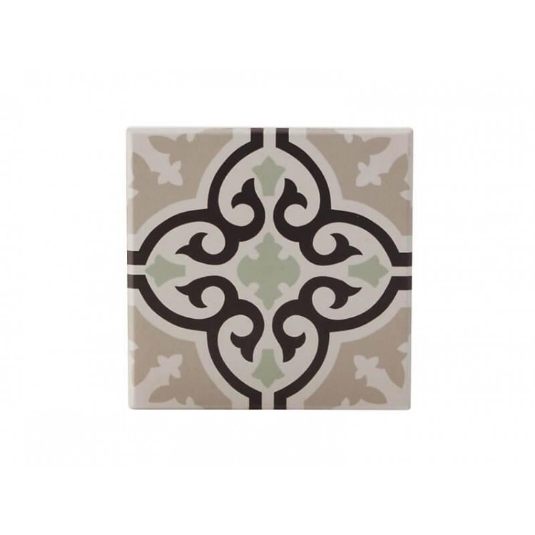 Maxwell & Williams Medina Ceramic Square Tile Coaster Mekes 9cm | DU0014
