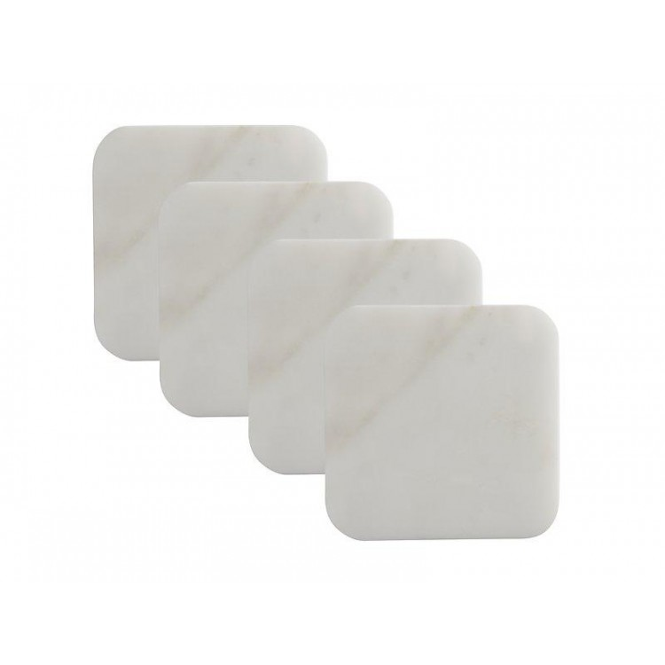 Maxwell & Williams Mezze Marble Coaster Square 10cm Set of 4 | GH0009