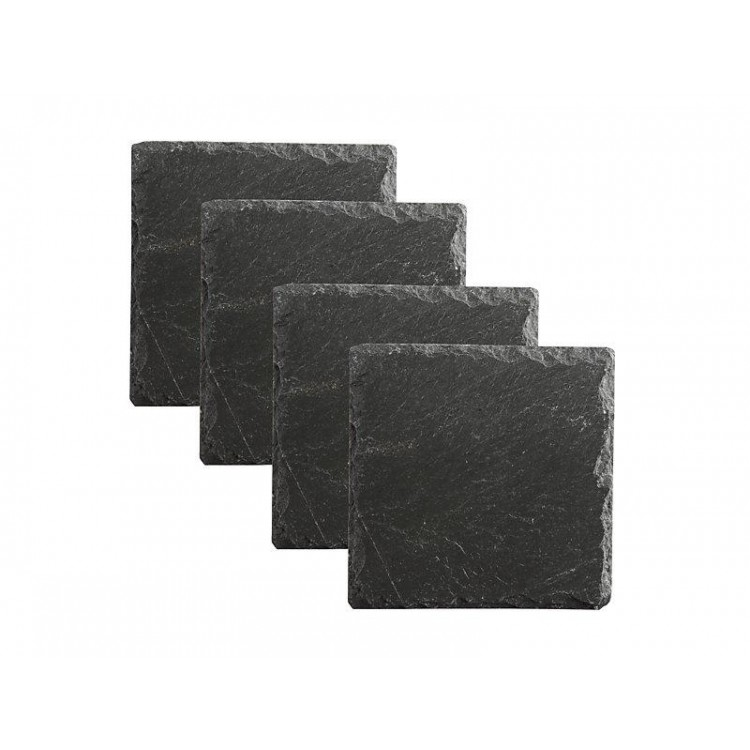 Maxwell & Williams Mezze Slate Coaster Square 10cm Set of 4 | GH0010