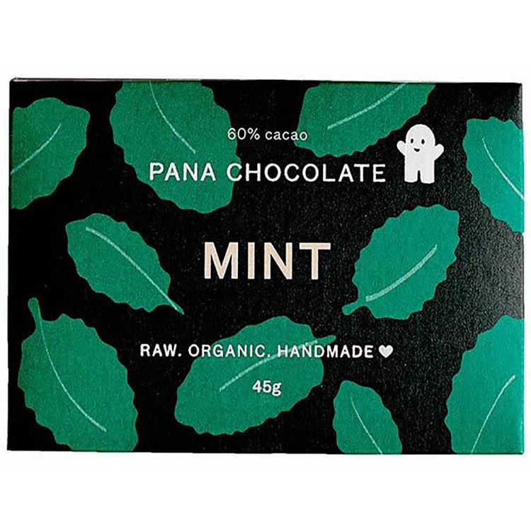 Pana Chocolate Mint 45G Bar