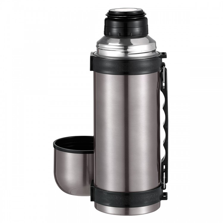Platinum Twin Wall Beverage Flask with Handle 1.2 Litre