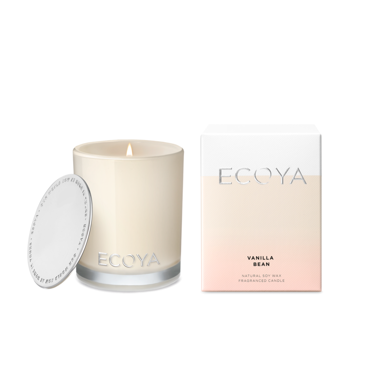 Ecoya Vanilla Bean Mini Madison Jar | MINI205