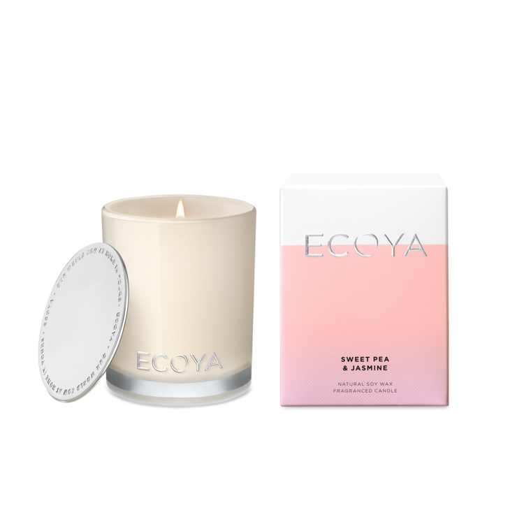 Ecoya Sweet Pea & Jasmine Mini Madison Jar | MINI203