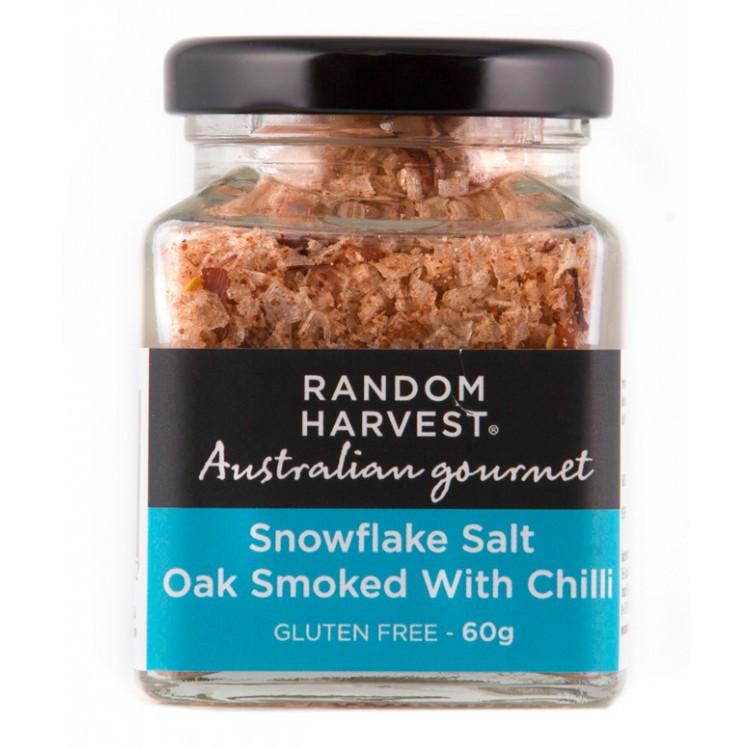 Random Harvest Oak Smoked Salt with Chilli