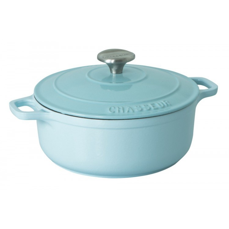 Round French Oven 24cm Duck Egg Blue