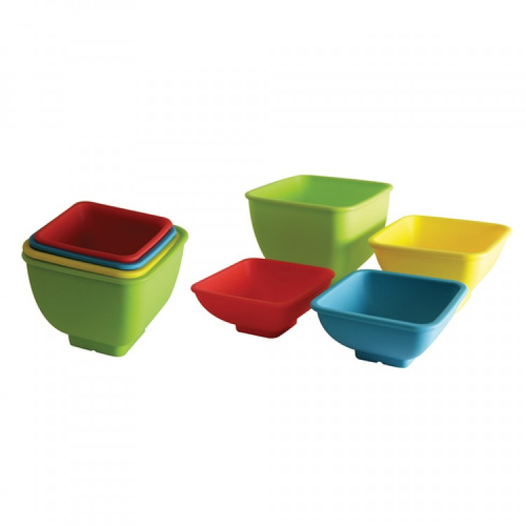 Avanti Silicone Measuring Square Bowls 4 Piece Set