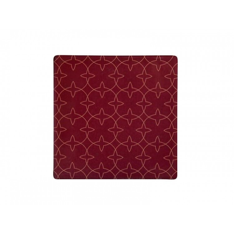 Maxwell & Williams Tessellate Ceramic Square Tile Coaster Aviary 9.5cm | DU0037