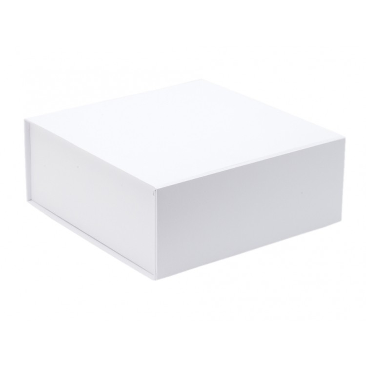 The GIFT'D Medium 4s Hamper Box White Pack of 10