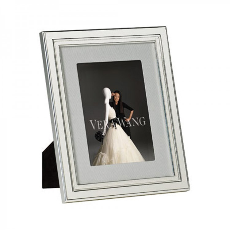 "Vera Wang Wedgwood Chime Silver Giftware Frame 5""x7"" (12.5x18cm)"