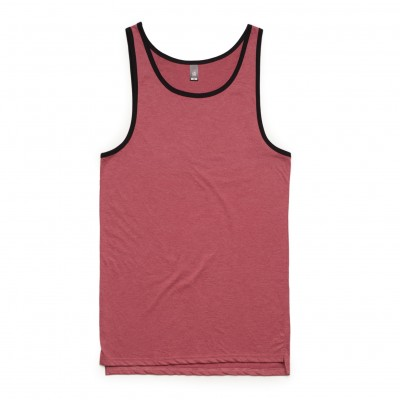 As Colour Contrast Singlet-2