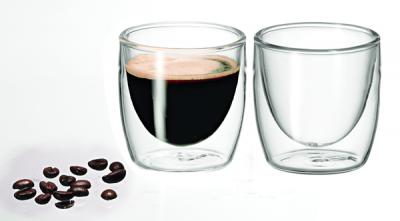 Avanti Caffe Twin Wall Glass 100ml - Set of 2