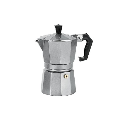 Avanti Espresso Coffee Maker Platinum Grey 3 Cup