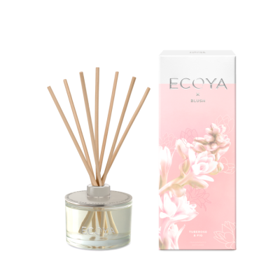 Ecoya X Blush - Tuberose & Fig Diffuser | REED502