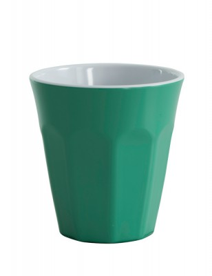 Avanti Cafe Melamine Two tone Cup - Forest Green