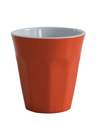 Avanti Cafe Melamine Two Tone Cup - Orange