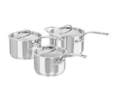 Chasseur 3 pc. Saucepan Set:Inc. 16, 18, 20 Saucepan