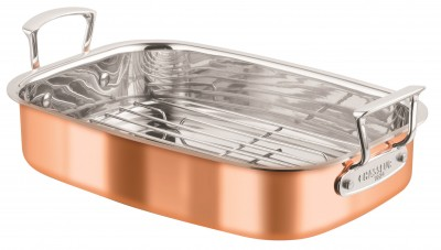 Chasseur Roasting Pan with Rack 35x26cm