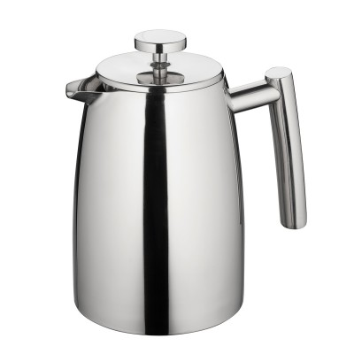 Avanti Modena Stainless Steel Twin Wall Coffee Plunger 1 Litre