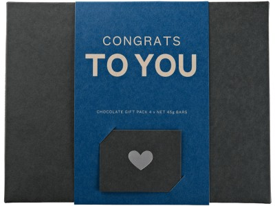 Pana Chocolate Congrats To You Gift Pack