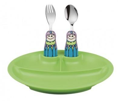Eat4Fun Fairy princess 3pc Plate Set