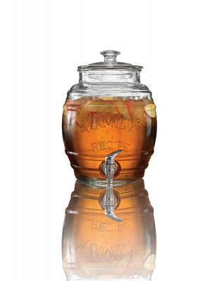 Avanti Glass Beverage Dispenser