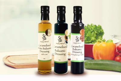 Gourmet Gift Award winning Simply Stirred Balsamic Trio