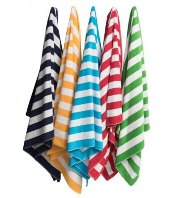 HW127 Hawaiian Stripe Beach Towel