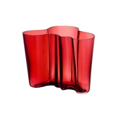 Iittala Aalto Vase 16cm Cranberry