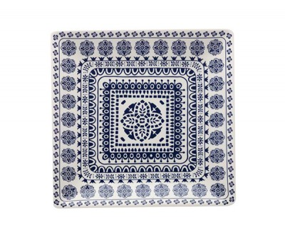 Maxwell & Williams Blue Antico Square Platter 34cm