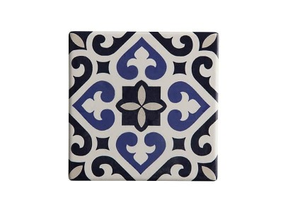 Maxwell & Williams Medina Ceramic Square Tile Coaster Azrou 9cm | DU0050