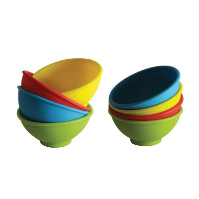Avanti Mini Pinch Bowls 4 Piece Set - Red/Green/Blue/Yellow