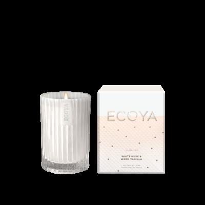 Ecoya White Musk & Warm Vanilla Mini Celebration Candle | CELE01