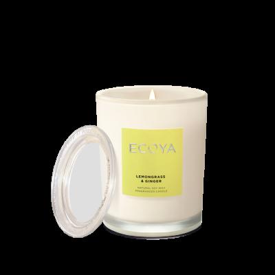 Ecoya Lemongrass & Ginger Metro Jar | METR206