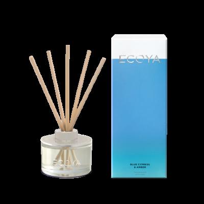 Ecoya Blue Cypress & Amber Mini Diffuser | REED208