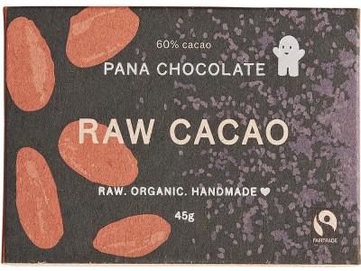 Pana Chocolate Raw Cacao 45G Bar