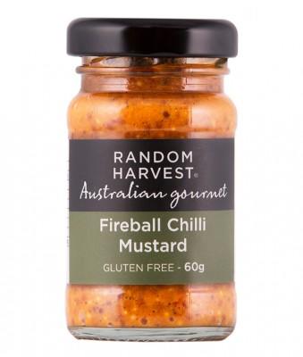 Random Harvest Fireball Chilli Mustard 60g